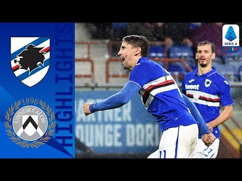 Sampdoria 2-1 Udinese | Ramirez and Gabbiadini Score to win Ranieri's Side the 3 Points | Serie A