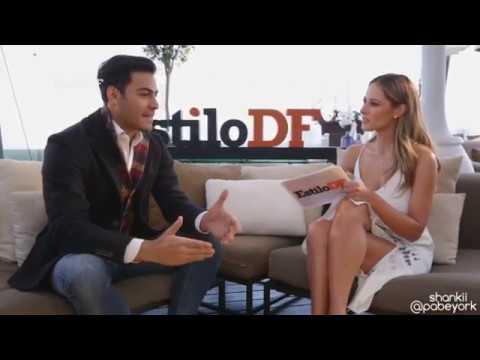 Vanessa Huppenkothen entrevista a Carlos Rivera en #EstiloDF