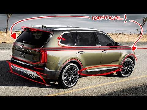 2020 Kia Telluride Re-design - Why did they do this?