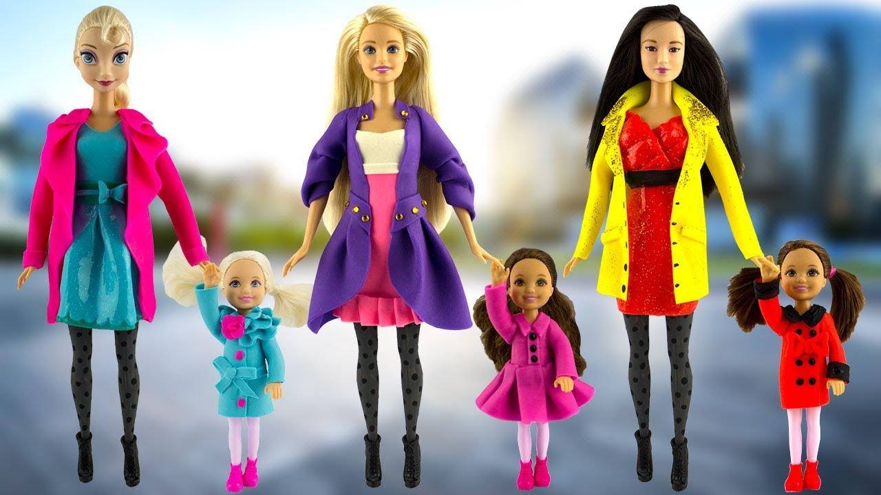 Play Doh Disney Princess Elsa Rapunzel Mulan And Little Princesses