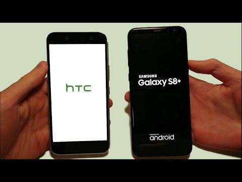 Samsung Galaxy S8+ vs HTC 10 Speed Test, Multitasking, Fingerprint Scanner