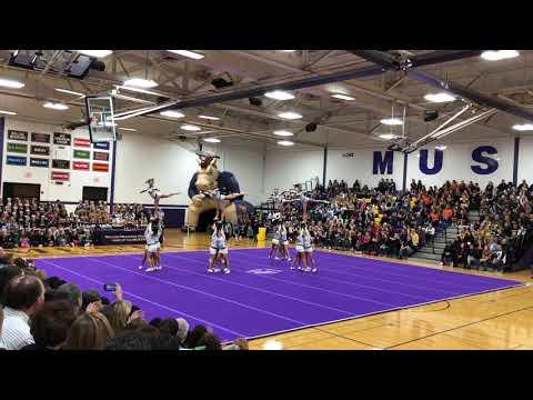 Stevenson High School Varsity Cheerleading - 12/15/18 - Rolling Meadows Cheerleading Round-Up