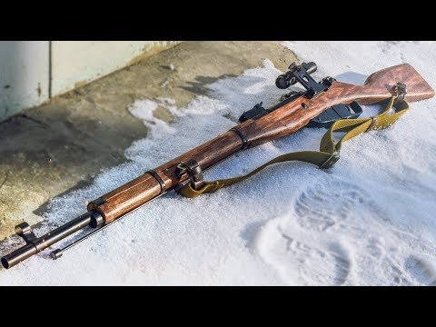 HOW TO MAKE RIFLE MOSINA FROM BATTLEFIELD DIY