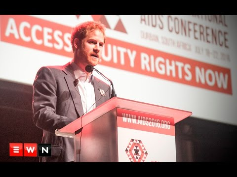 Prince Harry: World faces risk of complacency in fight against HIV/Aids