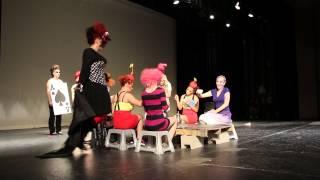 ASoC Fantasy Hair Show 2013 - Wonderland segment