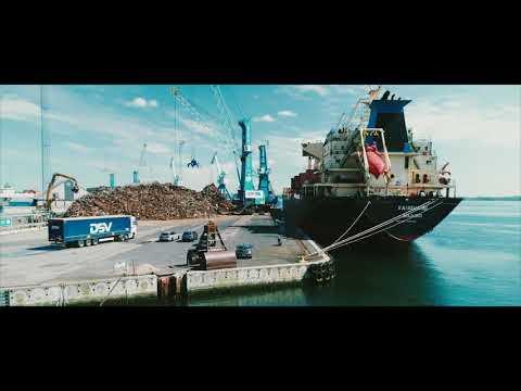 Bradals Produkthandel - Shipping fra Fredericia Havn