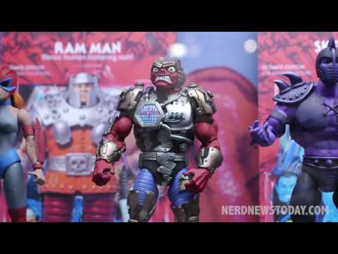NY Toy Fair 2017: Super7 Masters of the Universe Classic & Reaction figures