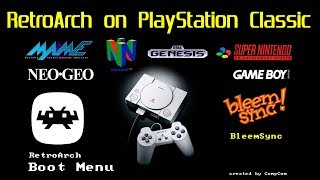 """How to install RetroArch """"BETA"""" on the PlayStation Classic play N64,MAME,NEO GEO,SEGA & MORE"""