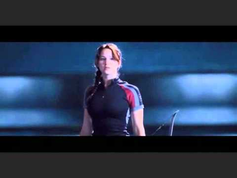 The Hunger Games Scoring scene