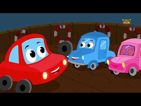 You Cant Run Its Halloween Night - Scary Car Rhymes - 3D Cartoons - Cars Song - Ditcu TV