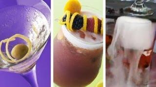 Dry Martini + Dika Sour + Guinda: Aromas con hielo seco