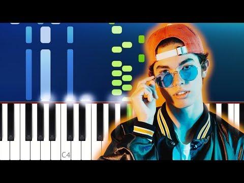 Conan Gray - Generation Why Piano Tutorial