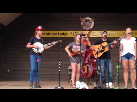 Galax Fiddlers Convention 2016 | 12th place Bluegrass Band | The County Fools | East Virginia Blues