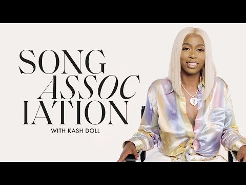 Kash Dolls Sings Frank Ocean, Jennifer Lopez and Alicia Keys in a Game of Song Association | ELLE