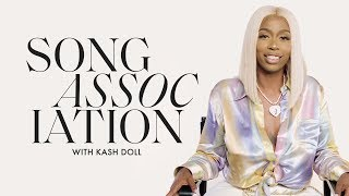 Kash Dolls Sings Frank Ocean, Jennifer Lopez and Alicia Keys in a Game of Song Association | ELLE