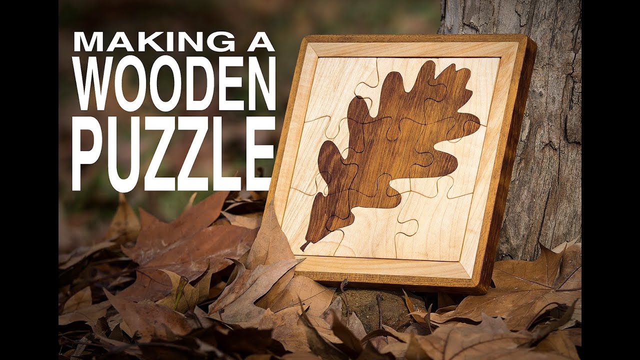 How To Make A Wooden Puzzle