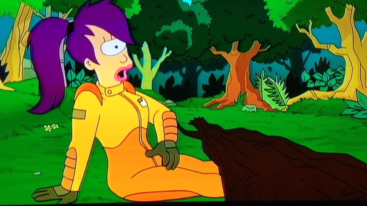 Nackt leela futurama Leela Futurama