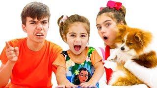 Nastya and Artem a story about friends and proper behavior أفضل سلسلة قصص تربوية وأخلاقية للأطفال
