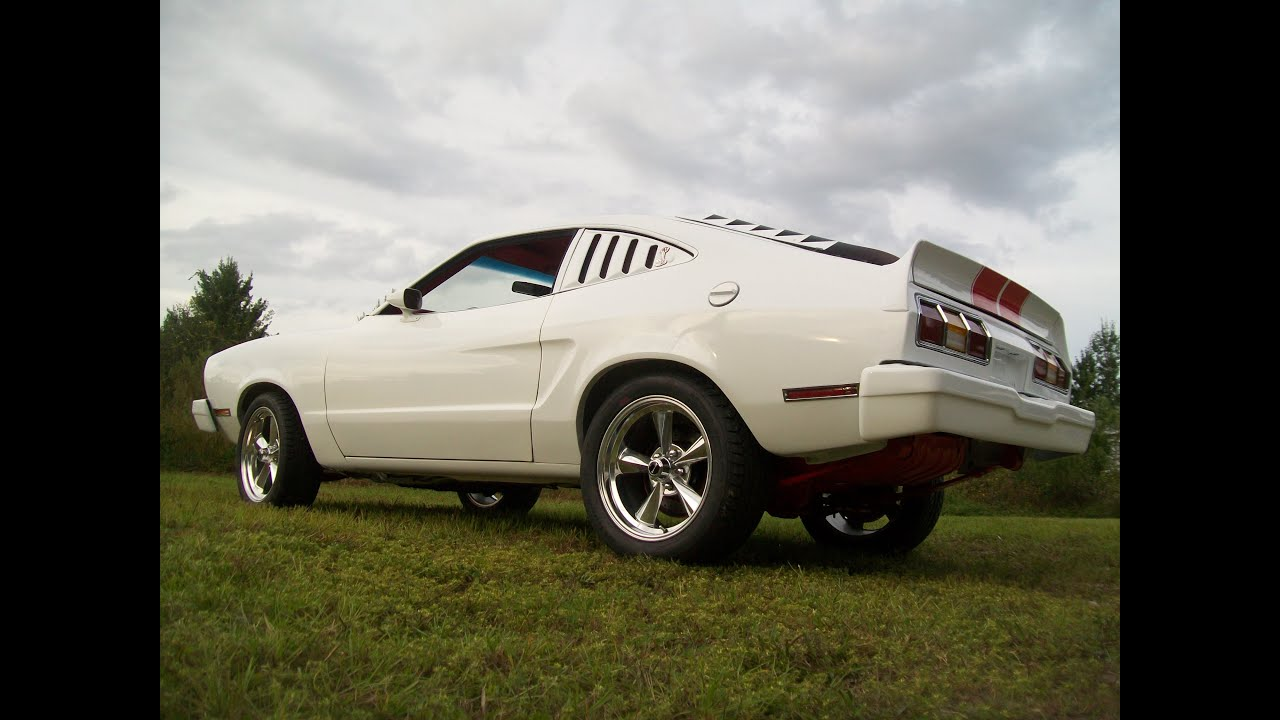 1978 Mustang Ii Cobra Restomod Slideshow Youtube