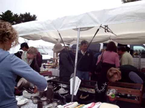Scarlett Scales Antiques at Brimfield, Mass Antique Show - Shopping at J&J