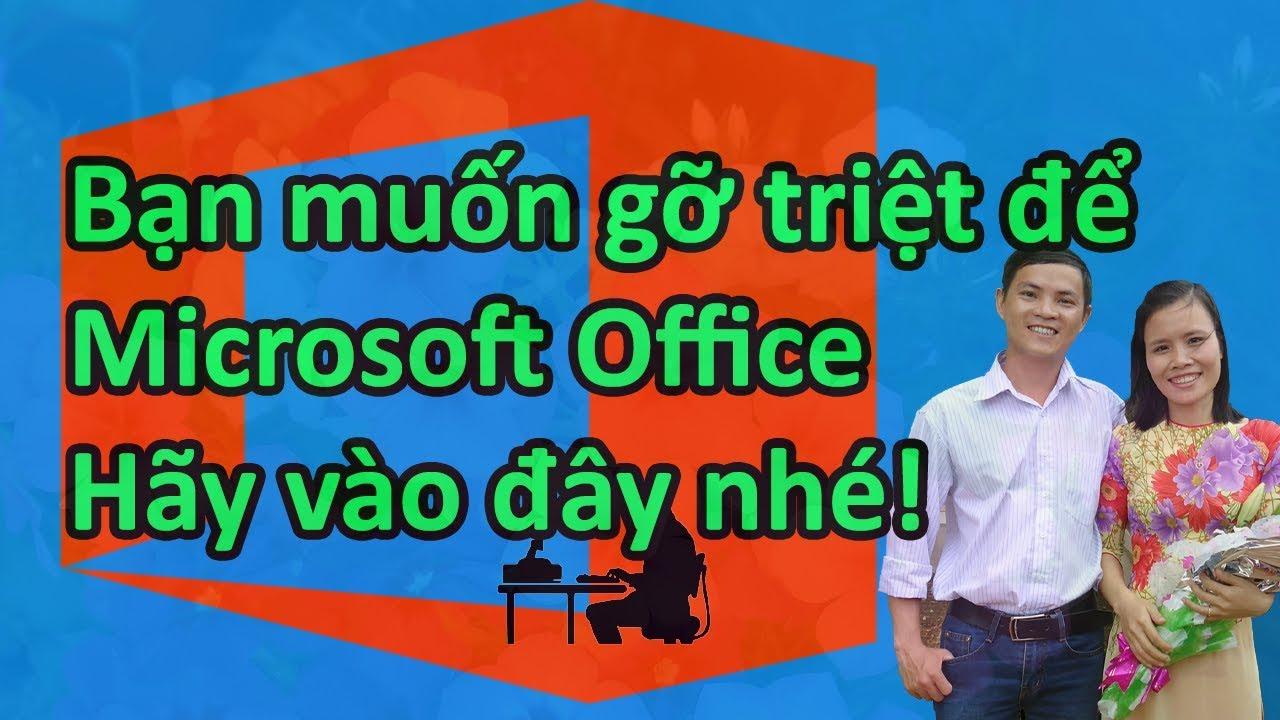 Cách gỡ triệt để Office bị lỗi bằng Tool của Microsoft