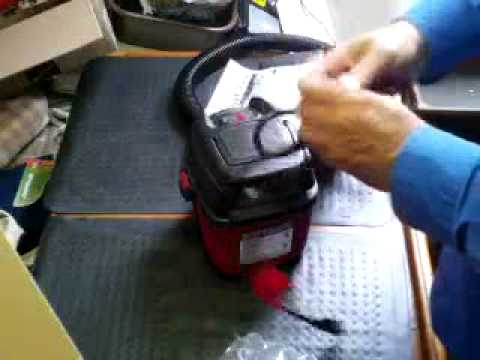 SHOP VAC MICRO: WHAT'S IN THE BOX!