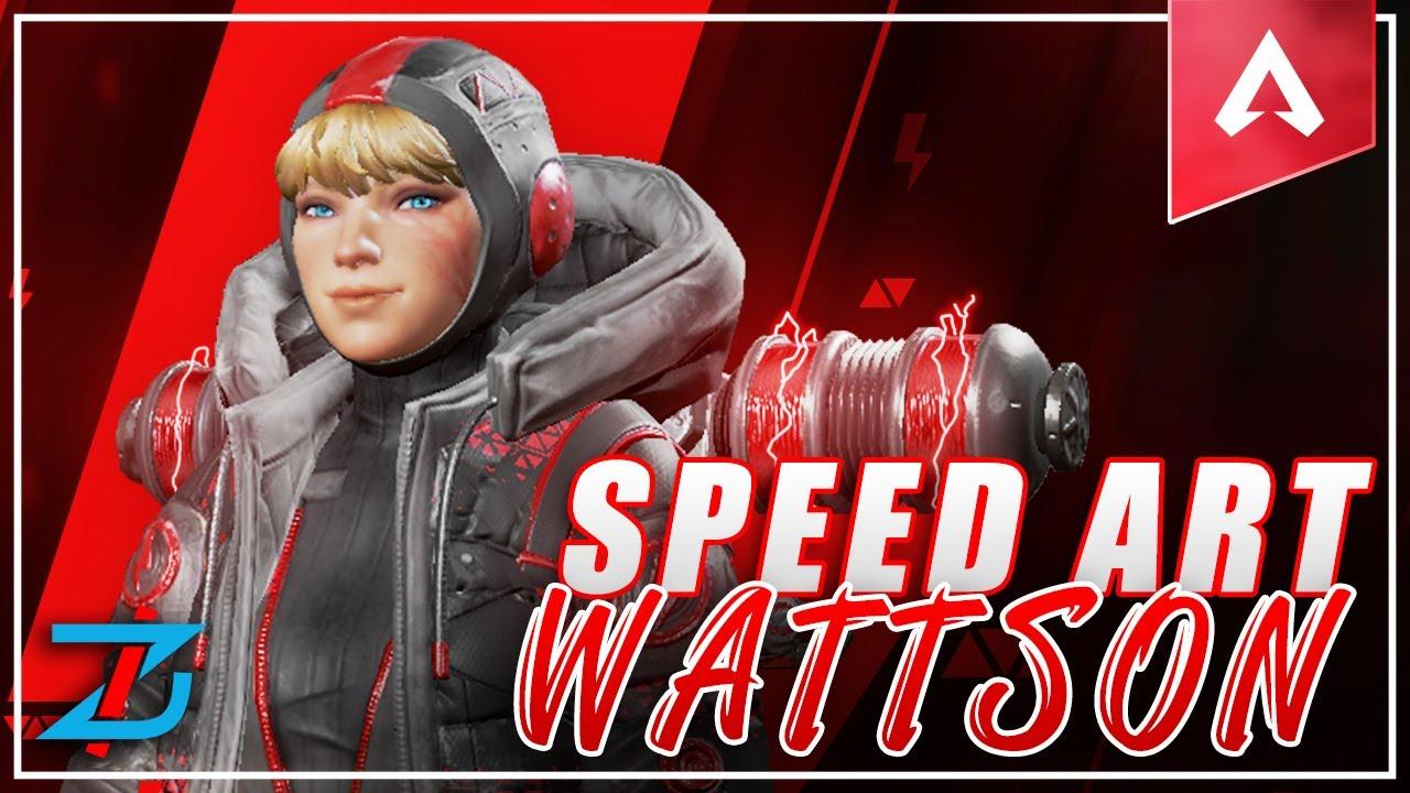 Apex Legends Wattson Mobile Wallpaper Speed Art Youtube