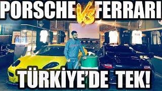 Türkiye'de Bir Eşi Daha Olmayan Ferrari ve Porsche