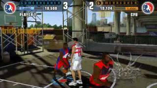 NBA Street Showdown PSP - RemoteJoy Gameplay