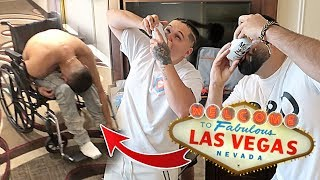 What NOT to do in Las Vegas! *GETS SENT TO HOSPITAL*