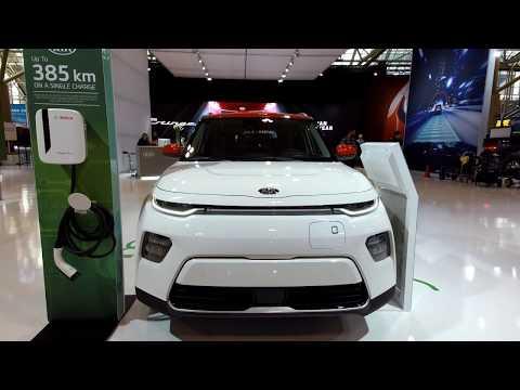 2020 Kia Soul EV @ 2019 Canadian International Auto Show