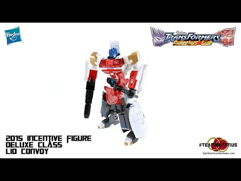 Video Review of the 2015 Transformers Collectors Club Deluxe Class Lio Convoy