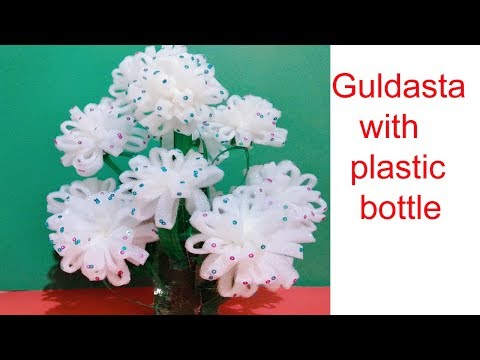 Foam Sheet Guldasta Using With Plastic Bottle Woolen Flower