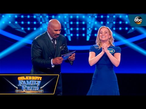 Kellie Pickler Fast Money - Celebrity Family Feud
