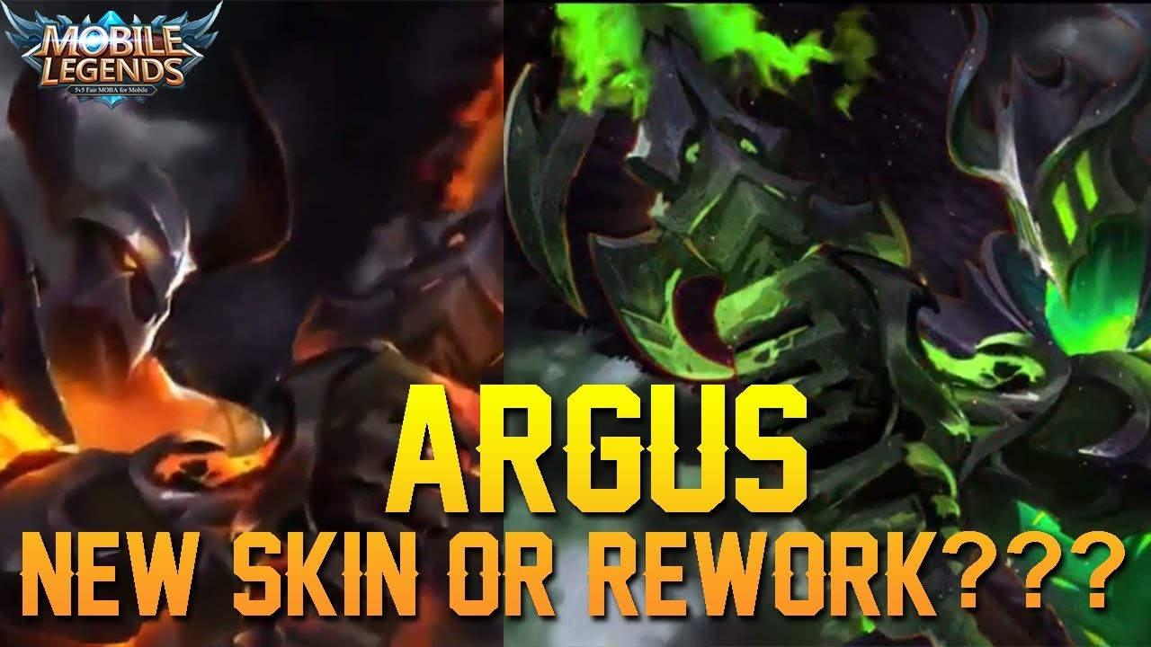 ARGUS New Skin Or Model Rework Mobile Legends