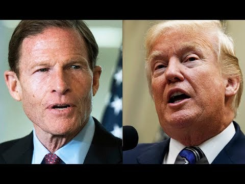 Trump's New Twitter Feud With Richard Blumenthal