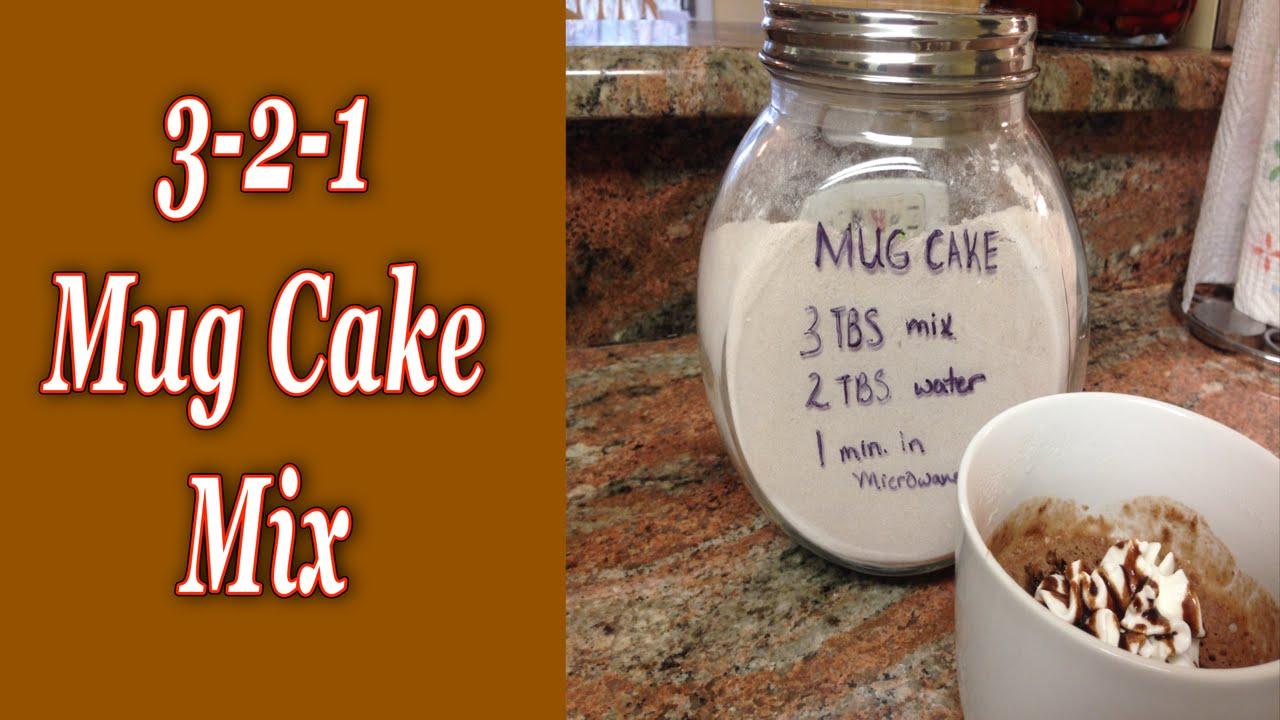 3 2 1 Mug Cake Youtube