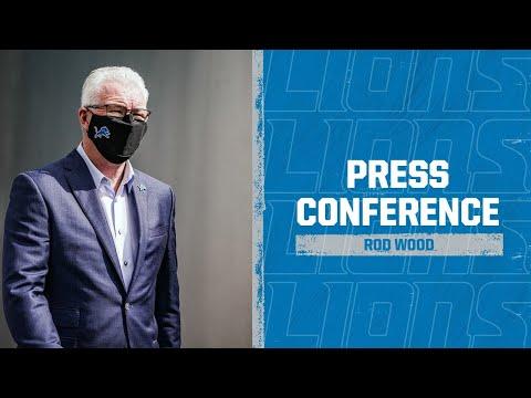 Detroit Lions Media Availability: March 31, 2021 |  Rod Wood