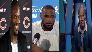 Martellus GOES OFF On Jason Whitlock For Saying LeBron Didn't Face RACISM~UR just a n*gga on ESPN✊🏾