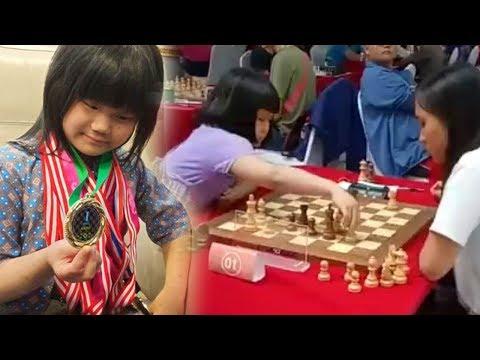 Samantha, Gadis Cilik Juara Dunia Catur Asal Bandung Kejar Gelar Grandmaster, Lihat Aksinya Saat Kal