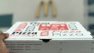 One of Daym Drops's most viewed videos: McPizza at the World's Largest McDonalds