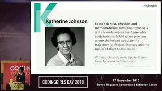 Welcome address: Shifting the mind of women and girls in tech - CodingGirls Day 2018