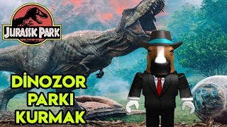 🦖 We're Building Our Own Dinosaur Park 🦖 | Jurassic Park Tycoon | Roblox English