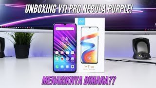 Beli 4 Jutaan!! Unboxing Vivo V11 Pro Nebula Purple Indonesia