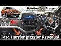 Tata Harrier ki Interior Image Leaked -  No Automatic Engine ?