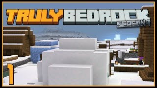 Ep 1: We broke the Moon! | TrulyBedrock SMP: Season 1