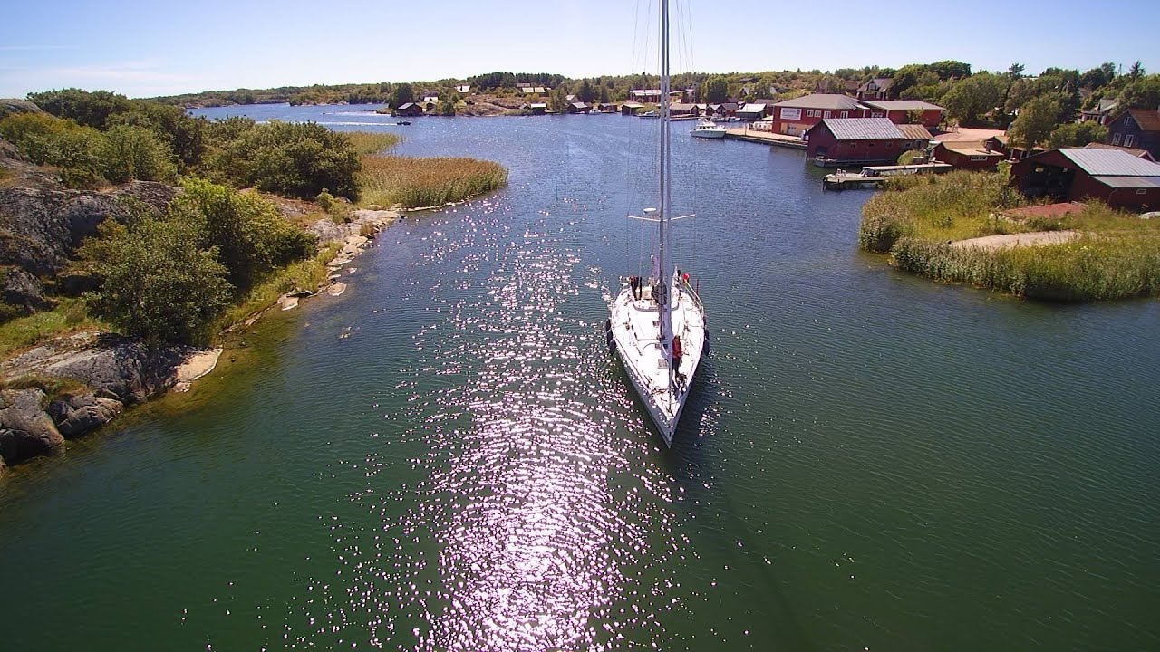 Kökar archipelago Åland Finland - Quadcopter video - YouTube