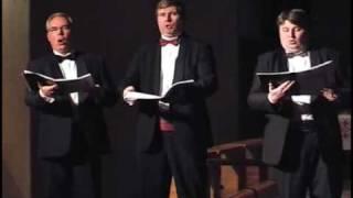Mats Calvén, Glenn Bengtsson and Stellan Dahlin sing O Betlehem... by Redner in Halmstad 2005