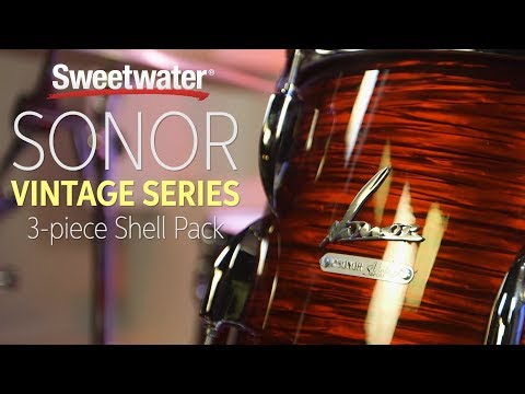 Sonor Vintage Series 3-piece Shell Pack Review