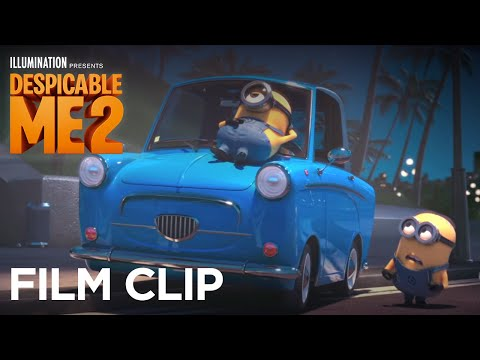"""Despicable Me 2 - Clip: """"Lucy & Gru are Rescued by Two Minions"""" - Illumination"""